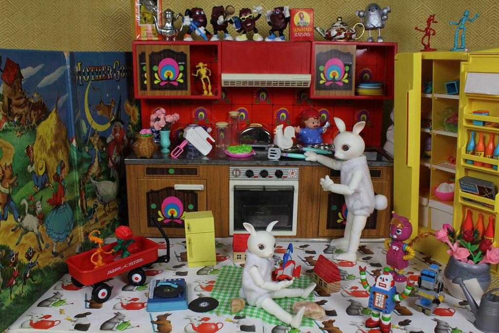 Ruby Rabbit's Retro Kitchen