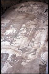 Mosaics at Villa Romana del Casale (XIV) (isawnyu) Tags: italy rome history archaeology stone tile italian ancient floor roman mosaic villa sicily civilization piazza romana armerina casale sicilian pleiades:depicts=462435