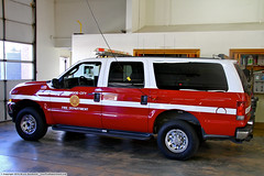 RWO Battalion Chief (YFD) Tags: ford canon fire ic action 911 firetruck emergency ems firedepartment commander excursion redwoodcity battalionchief incidentcommand alisaannruch eos7d burnfoundation burnrelay aarbf