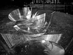 glass art (B.Jansma) Tags: sky bw white 3 black reflection tree art water glass grass canon focus kunst dramatic special gras lucht dag zwart wit glas emptiness castel 2010 kasteel zw monumenten voorschoten drie duivenvoorde 500d speciaal