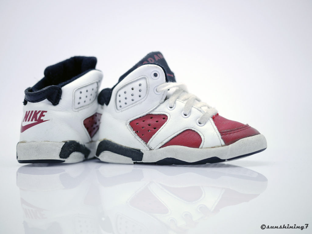 4715f3764a17 Sunshining7 - Nike Air Jordan VI (6) - OG 1991 - Carmine - baby