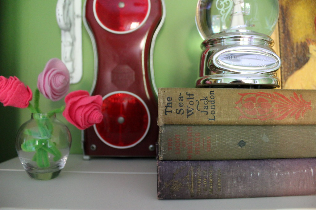 their shelves