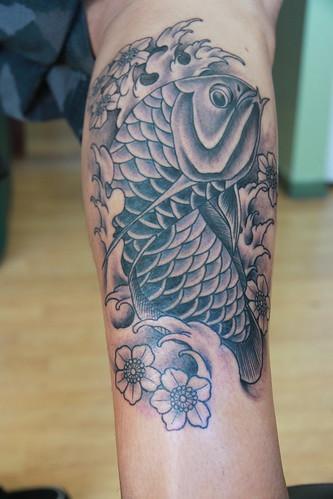 arowana tattoo. Arowana Tattoo
