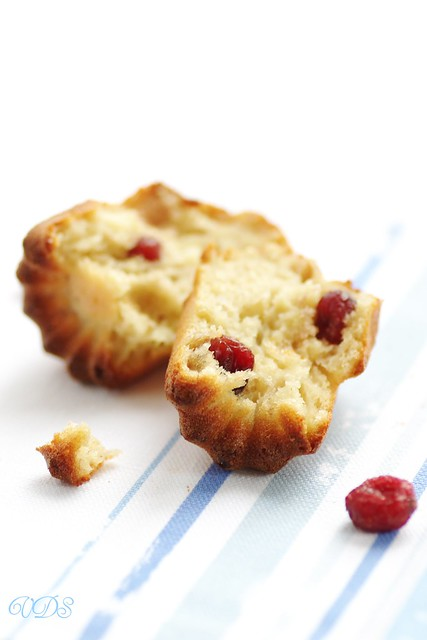 Bananabread aux cranberries