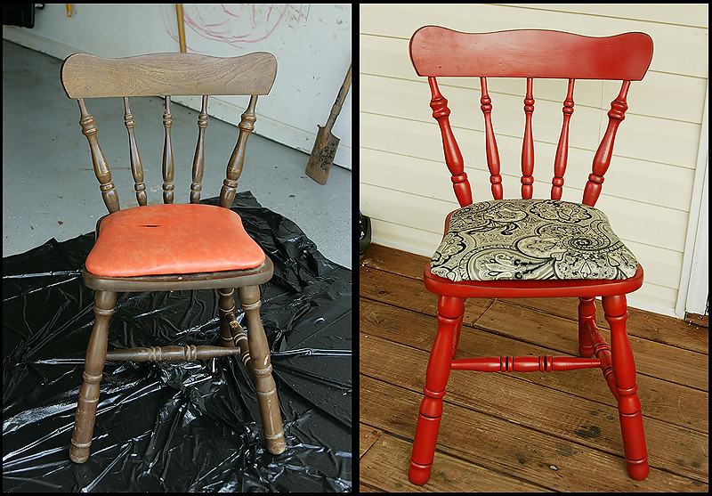 chair-before and after