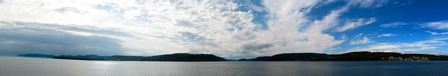 Embouchure du Fjord - Panorama