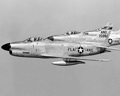 """North American F-86D-25-NA """"Sabres"""" of the159th FIS, FLA-ANG (Jacksonville's Imeson Airport, FL.) (aeroman3) Tags: north sabre american f86d"""