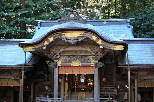 Japanese style shrine / JINJA / 諏訪大社(すわたいしゃ)