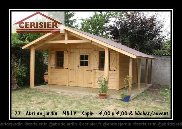 Abri de jardin MILLY by cerisier77310
