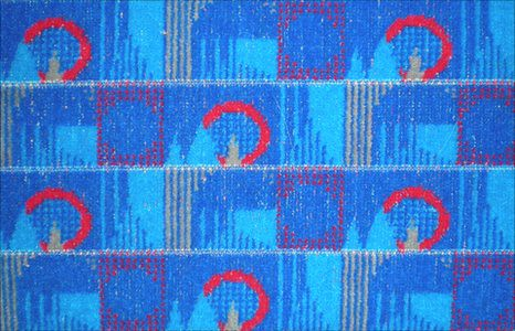 New Barman London Underground Moquette
