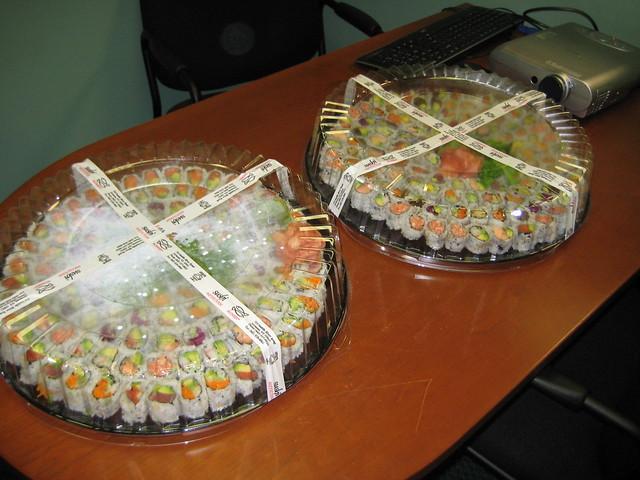 OnTimeAirFilters Feeds RustyBrick Sushi