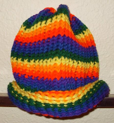 rainbow beanie 1 - 5