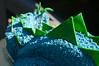 Cake Detail (CarbonNYC [in SF!]) Tags: icing cake stegosaurus sugar green blue fondant piping piped dinosaur birthday birthdaycake food carbonnyc cakebymaya carbonsf
