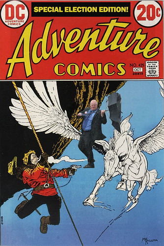 Special Election Edition of Adventure Comics!