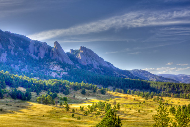 Boulder Flat Irons from NCAR HDR Second Attempt