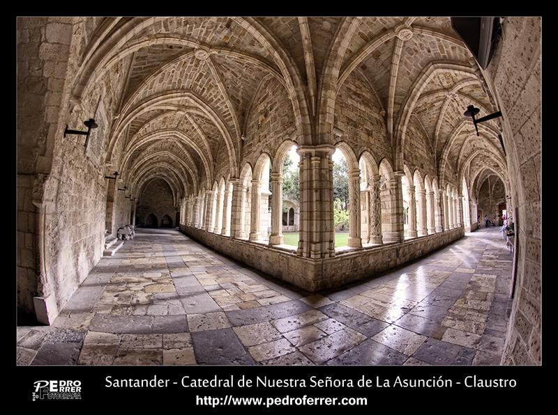 Santander - Catedral de Nuestra Señora de La Asunción - Claustro