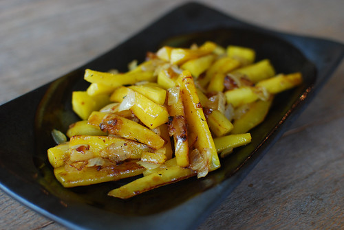 Yellow Caramelized Carrots