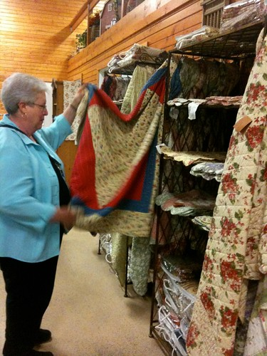 Quilts at Stades Farm and Farmers Market McHenry Illinois