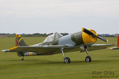 G-JYAK YAKOVLEV-50 853001 PRIVATE - 100905 Duxford - Alan Gray - IMG_1924
