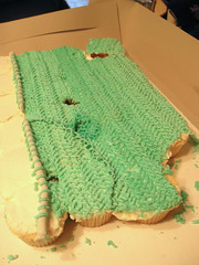 """Knitted"" icing"