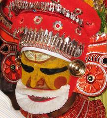 The Theyyam Dance (Sheriff Orange) Tags: kerala theyyam kannur cannanore