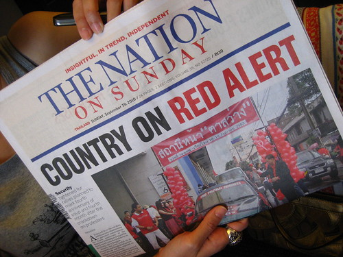 The Nation - Bangkok on Red Alert