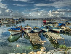 My corner (Nejdet Duzen) Tags: trip travel cloud turkey boat jetty trkiye fisher iskele sandal izmir bulut turkei seyahat balk mywinners inciralt colorphotoaward theunforgettablepictures saariysqualitypictures rememberthatmomentlevel1