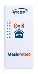 Mesh Potato - face view