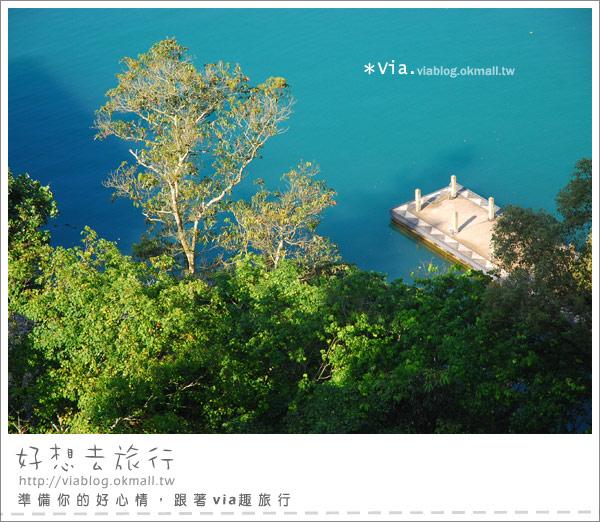 【南投】欣賞日月潭最美角度的餐廳~雲品酒店雲月舫25