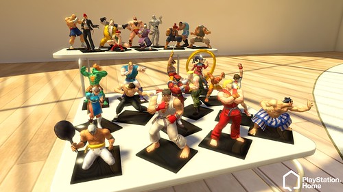 PlayStation Home: Street Fighter 4 statuettes