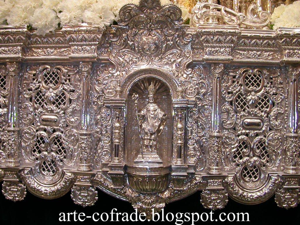 Respiradero del paso de Nuestra Señora de la Candelaria. Sevilla