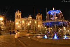 Cusco by night (Fil.ippo) Tags: cusco cuzco navel ombelico world mondo perù inca incas night notte filippo d5000 filippobianchi fontana fountain