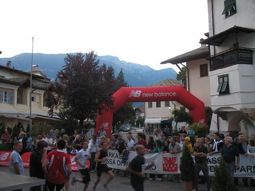 Laufveranstaltung in Südtirol