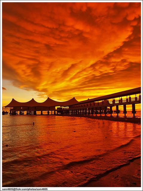 Sunset @ Kuala Perlis