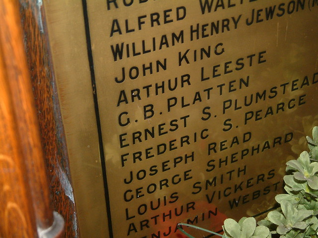 St Clement Norwich - The Great War fallen  - 2 by Moominpappa06