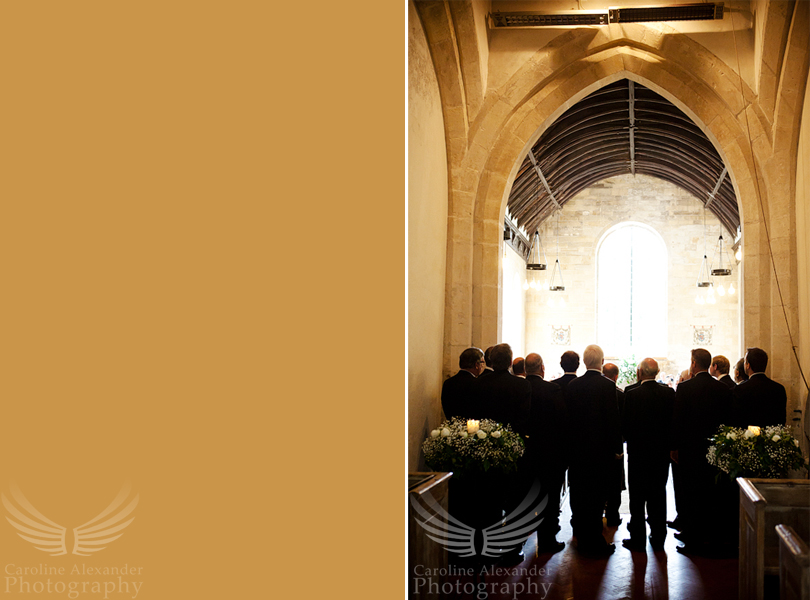 Gloucestershire Wedding Photographer 20 Cirencester Choir