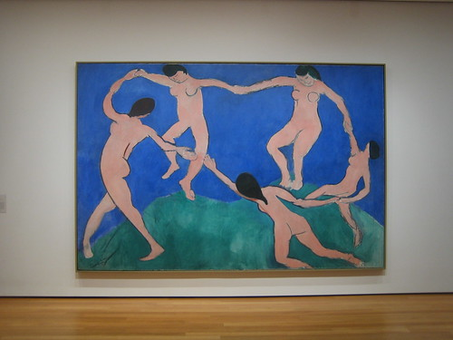 Dance (I), early 1909, Henri Matisse _7400