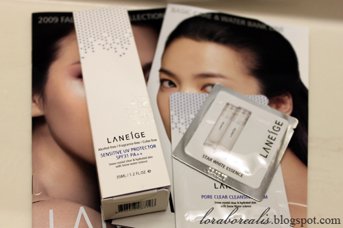 Laneige Sensitive UV Protector01
