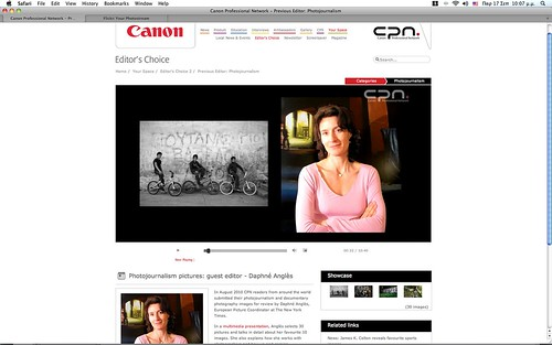 Canon Professional Network (CPN) choose nasos zovo...