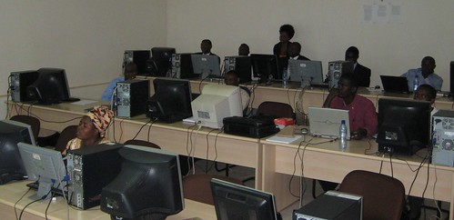 Teachers are trained in ICT at CBCE