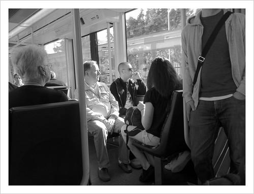 Morning commute, Sydney