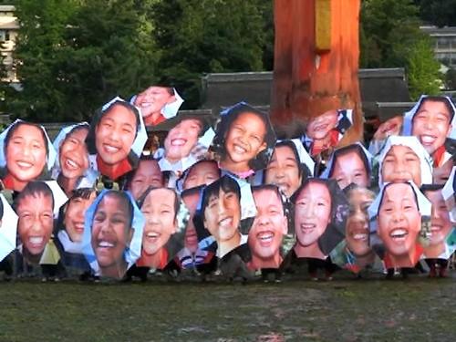 笑顔 傘 プロジェクト