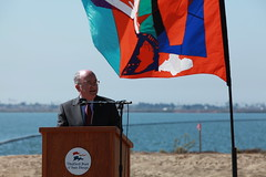 Port, Federal Agencies Celebrate Start of South San Diego Bay Restoration Project (Port of San Diego) Tags: sandiego ceremony estuary environment habitat southbay noaa epa groundbreaking chulavista commissioners portofsandiego nativehabitatrestoration oceandiscoveryinstitute californiacoastalconservatory environmentalfund