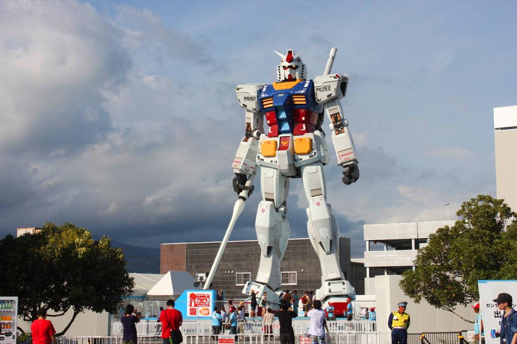Real Size GUNDAM moved to Shizuoka (2)