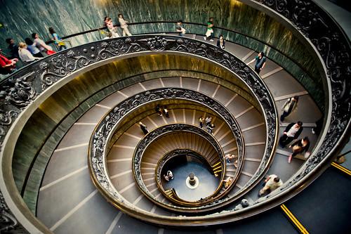 フリー写真素材, 建築・建造物, 階段, イタリア,