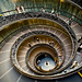 Vatican stairs, escaleras del Vaticano.