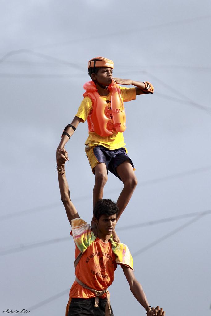 Dahi Handi: The top