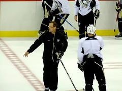 (Shane Henderson) Tags: hockey nhl coach pittsburgh practice rookies trainingcamp prospects pittsburghpenguins derykengelland danbylsma consolenergycenter