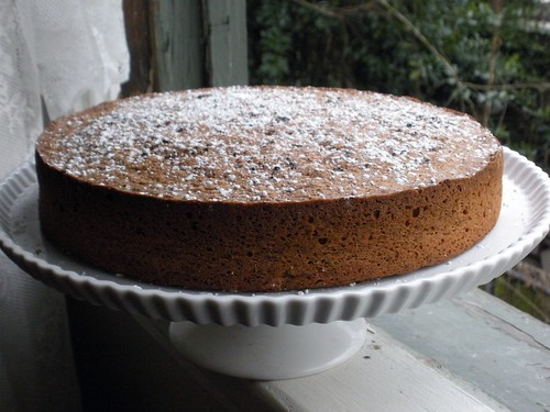 hazelnut brown butter cake
