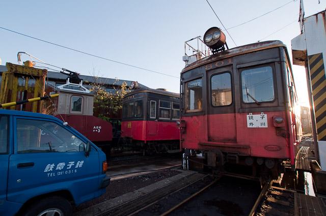 銚子電鉄 デハ801・デハ701 デキ3